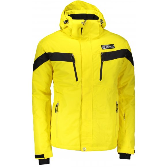 Pánská lyžařská bunda TRIMM SPECTRUM YELLOW/BLACK