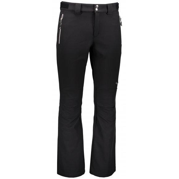 Pánské zimní softshellové kalhoty TRIMM TOMBA BLACK