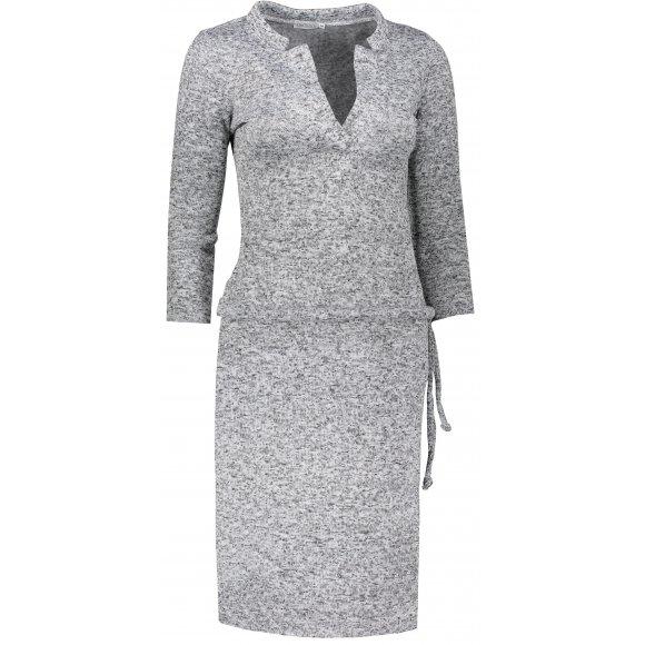 Dámské šaty NUMOCO A161-14 ŠEDÝ MELANŽ