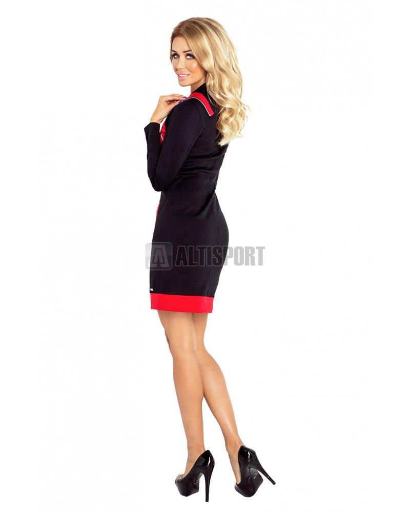 Dámské šaty NUMOCO A129-4 ČERNÁ velikost  L   ALTISPORT.cz 4f301e795b