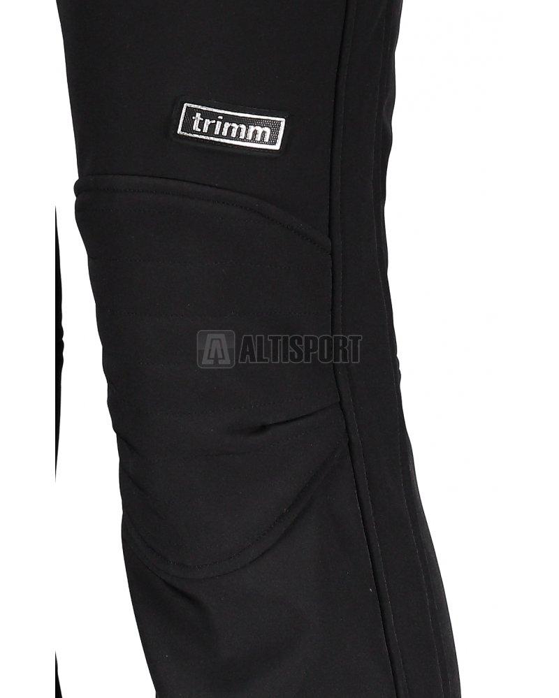 Dámské zimní softshellové kalhoty TRIMM LARA BLACK velikost  S ... 77b45390c8