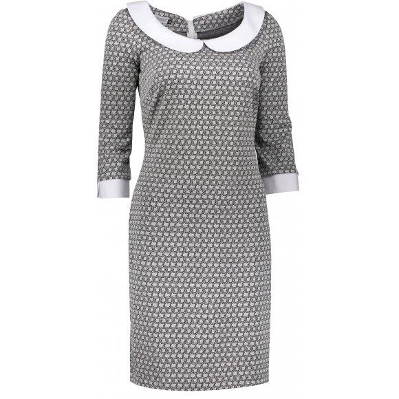 Dámské šaty NUMOCO A111-2 ŠEDÁ