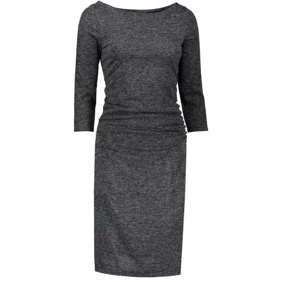 Dámské šaty NUMOCO A59-1 ČERNÝ MELANŽ