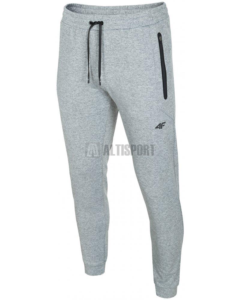 Pánské kalhoty 4F SPMD303 COLD LIGHT GREY MELANGE velikost  XXXL ... 9055c8a24c