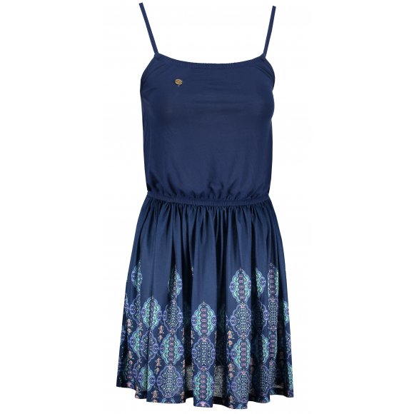 Dámské šaty KIXMI HONESTY TMAVĚ MODRÁ