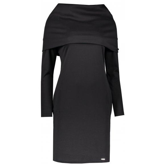 Dámské šaty NUMOCO A131-1 ČERNÁ