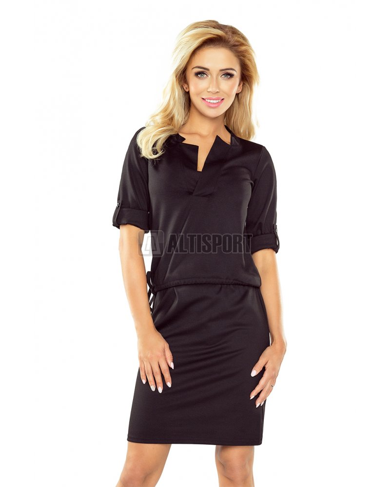 Dámské šaty NUMOCO A161-1 ČERNÁ velikost  XL   ALTISPORT.cz 1d0fe2240d6