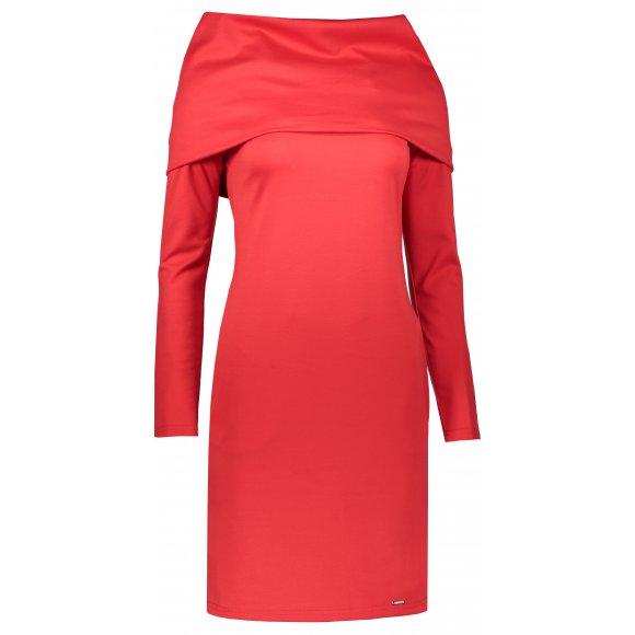 Dámské šaty NUMOCO A131-9 ČERVENÁ