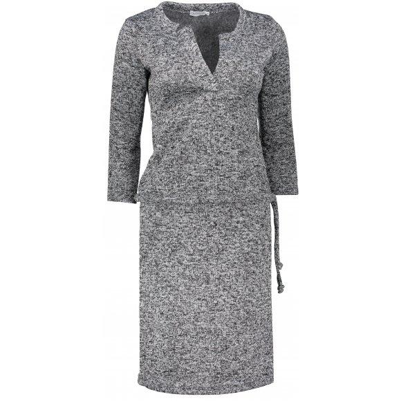 Dámské šaty NUMOCO A161-4 ČERNÝ MELANŽ