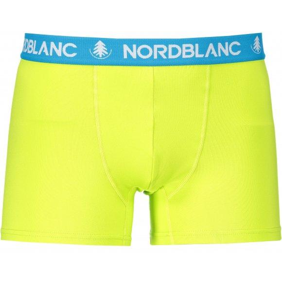 Pánské boxerky NORDBLANC NBSPM6865 JASNĚ ZELENÁ