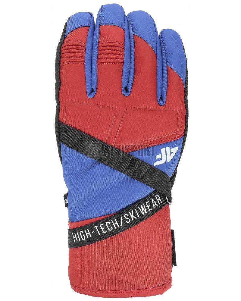 d20fb7a3987 Pánské lyžařské rukavice 4F REM251 RED velikost  S   ALTISPORT.cz