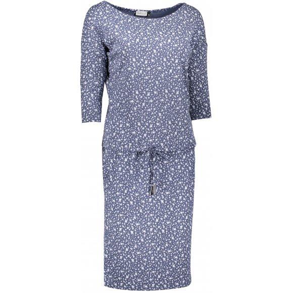 Dámské šaty NUMOCO A13-83 KVĚTINOVÝ JEAN