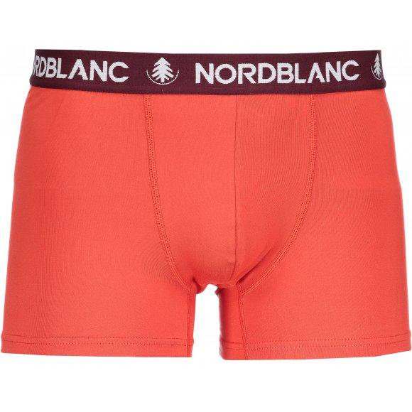 Pánské boxerky NORDBLANC NBSPM6865 ČERVENÁ