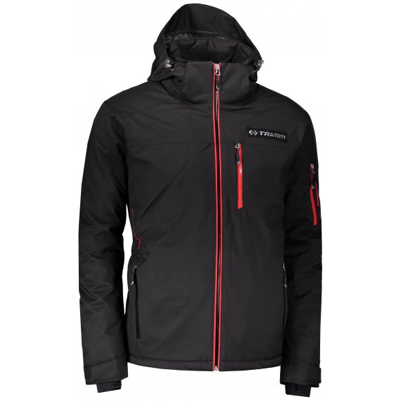 Pánská lyžařská bunda TRIMM FALCON BLACK/RED
