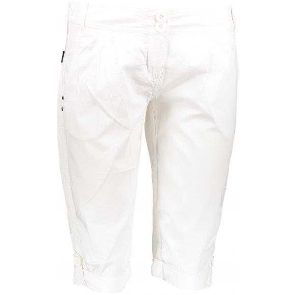 Dámské 3/4 kalhoty SAM 73 ELINA LPAN327 BÍLÁ