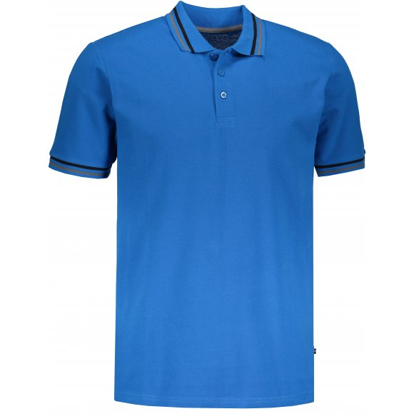 Pánské triko s límečkem ALPINE PRO NOVIL MTSN418 MODRÁ