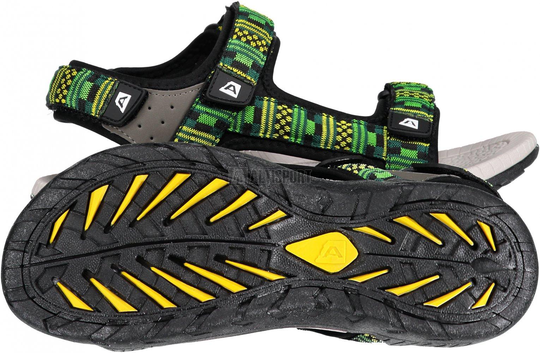 Pánské sandále ALPINE PRO RIAN UBTN186 ZELENÁ velikost  EU 43 (UK 9 ... 6abd7957ad