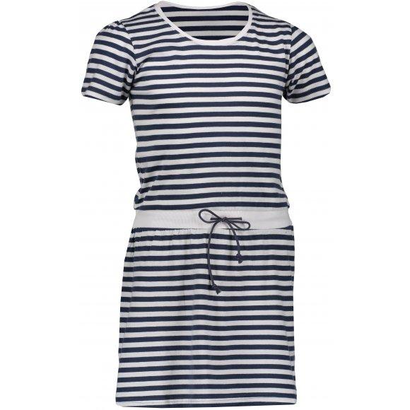 Dívčí šaty SAM 73 TAMARINO KSKN059 TMAVĚ MODRÁ