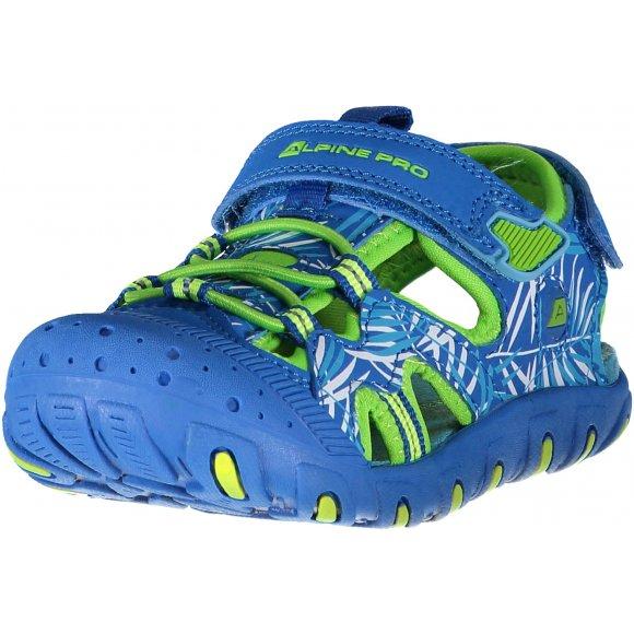 Dětské sandále ALPINE PRO CARNEO KBTN191 MODRÁ