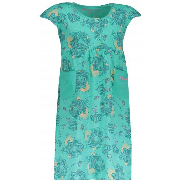 Dívčí šaty ALPINE PRO SARKO KSKN048 ZELENÁ