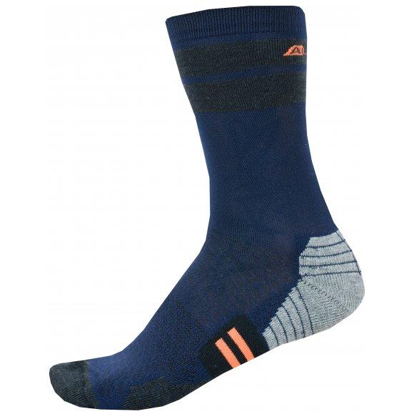 Ponožky ALPINE PRO ADRON 3 USCN051 TMAVĚ MODRÁ