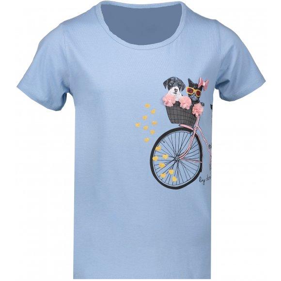 Dívčí triko SAM 73 TOMBEO KTSN204 MODRÁ