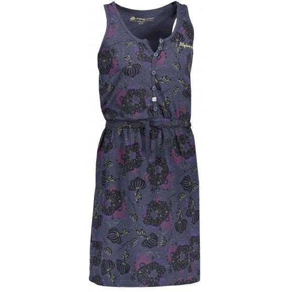 Dívčí šaty ALPINE PRO GOGO KSKN049 MODRÁ