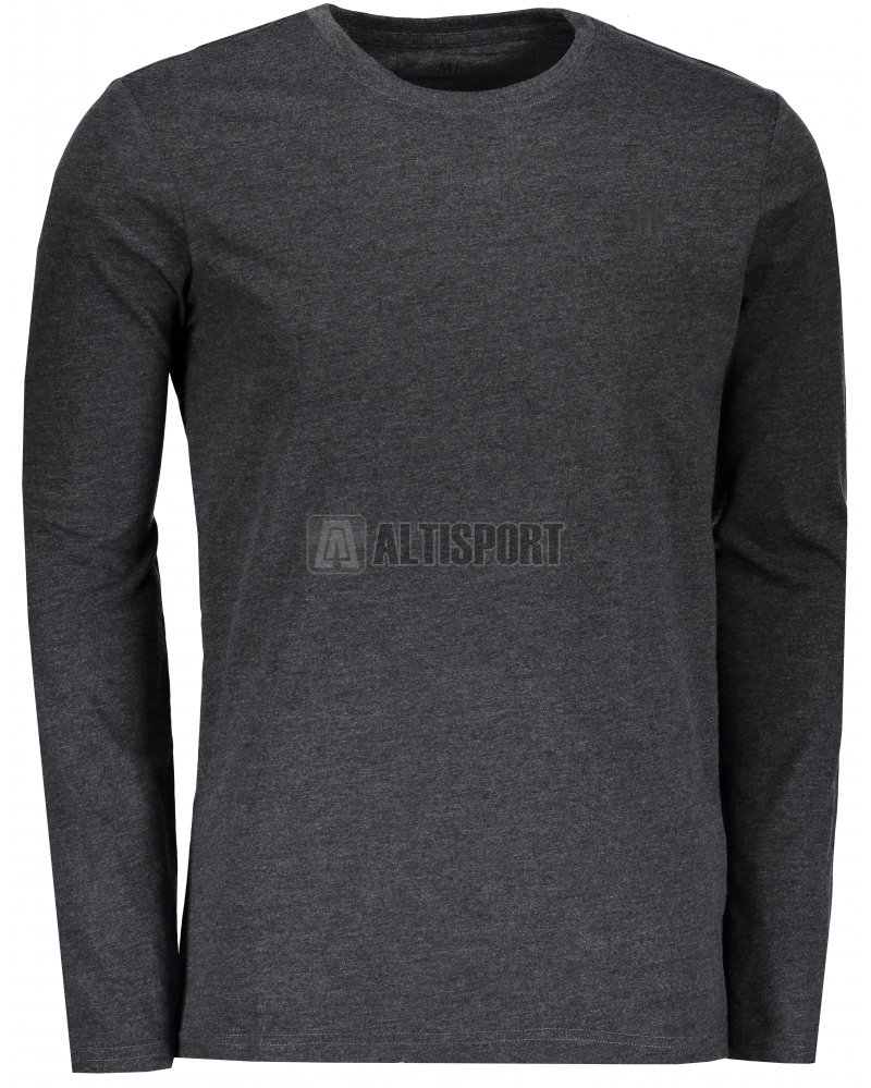 Pánské triko s dlouhým rukávem 4F TSML300 DARK GREY MELANGE velikost ... 30ceee2356