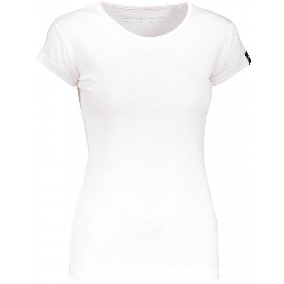 Dámské triko s krátkým rukávem ALPINE PRO ESKA LTSN546 BÍLÁ