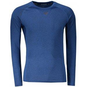 Pánské triko s dlouhým rukávem 4F TSMLF272 DARK BLUE MELANGE 28bdcb954b