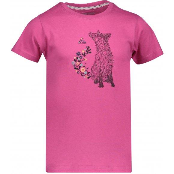 Dětské tričko s krátkým rukávem ALPINE PRO NEJO KTSN164 RŮŽOVÁ