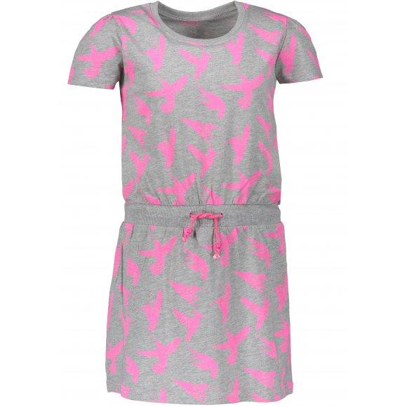 Dívčí šaty SAM 73 BLAKO KSKN053 SVĚTLE ŠEDÁ