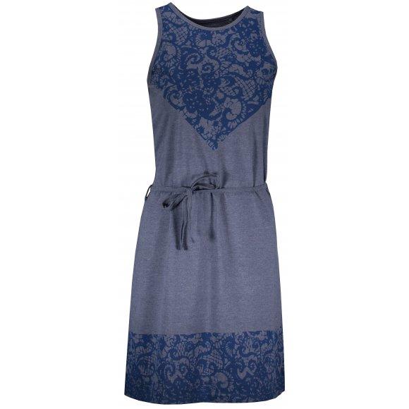 Dámské šaty SAM 73 HILDA LSKN175 TMAVĚ MODRÁ