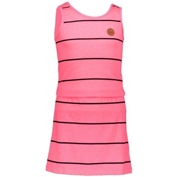 Dívčí šaty SAM 73 GZ 518 SVĚTLE RŮŽOVÁ