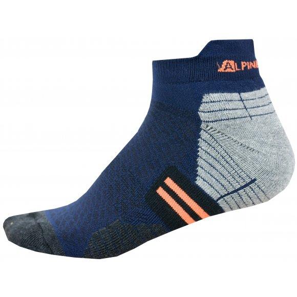 Ponožky ALPINE PRO DON USCN054 TMAVĚ MODRÁ