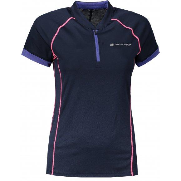 Dámské funkční tričko s krátkým rukávem ALPINE PRO SORANA LTSN412 MODRÁ