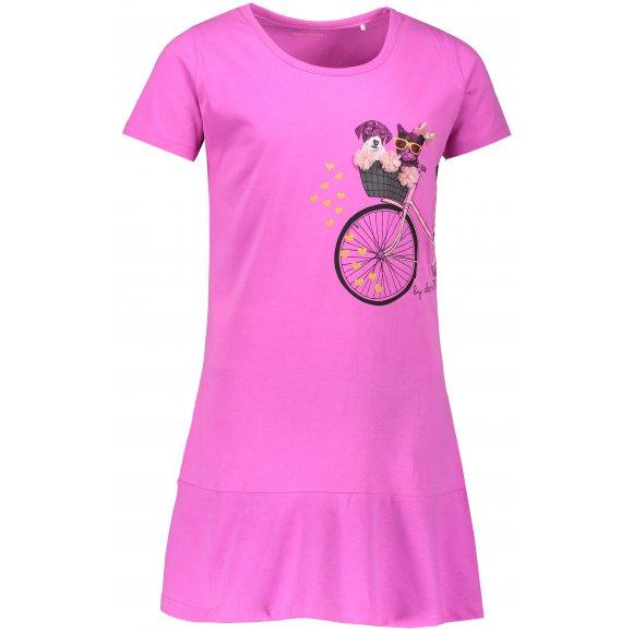 Dívčí šaty SAM 73 REMPARTO KSKN060 RŮŽOVÁ