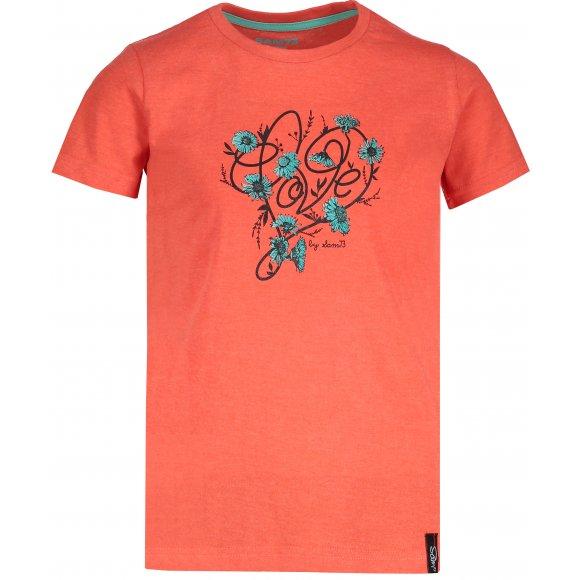 Dívčí triko SAM 73 CASTIO KTSN181 ORANŽOVÁ