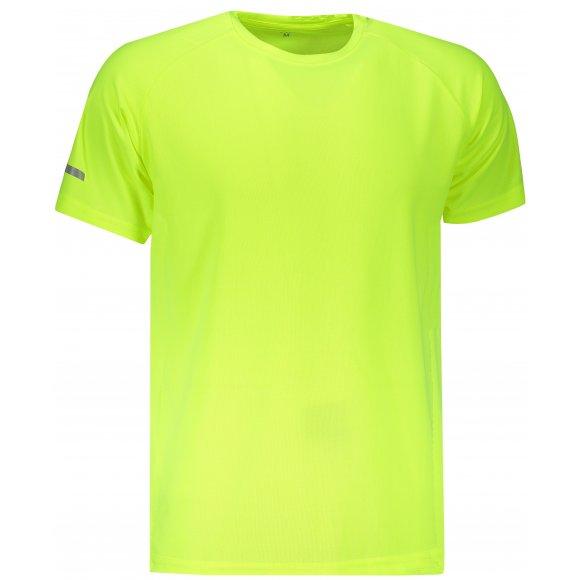 Pánské funkční triko SAM 73 TORYN MTSN392 SVÍTIVĚ ZELENÁ