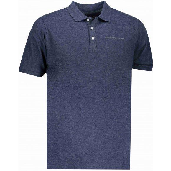 Pánské triko s límečkem ALPINE PRO TONRAR MTSN437 MODRÁ