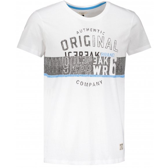 Pánské triko ICEPEAK MATT 57770514 OPTIC WHITE