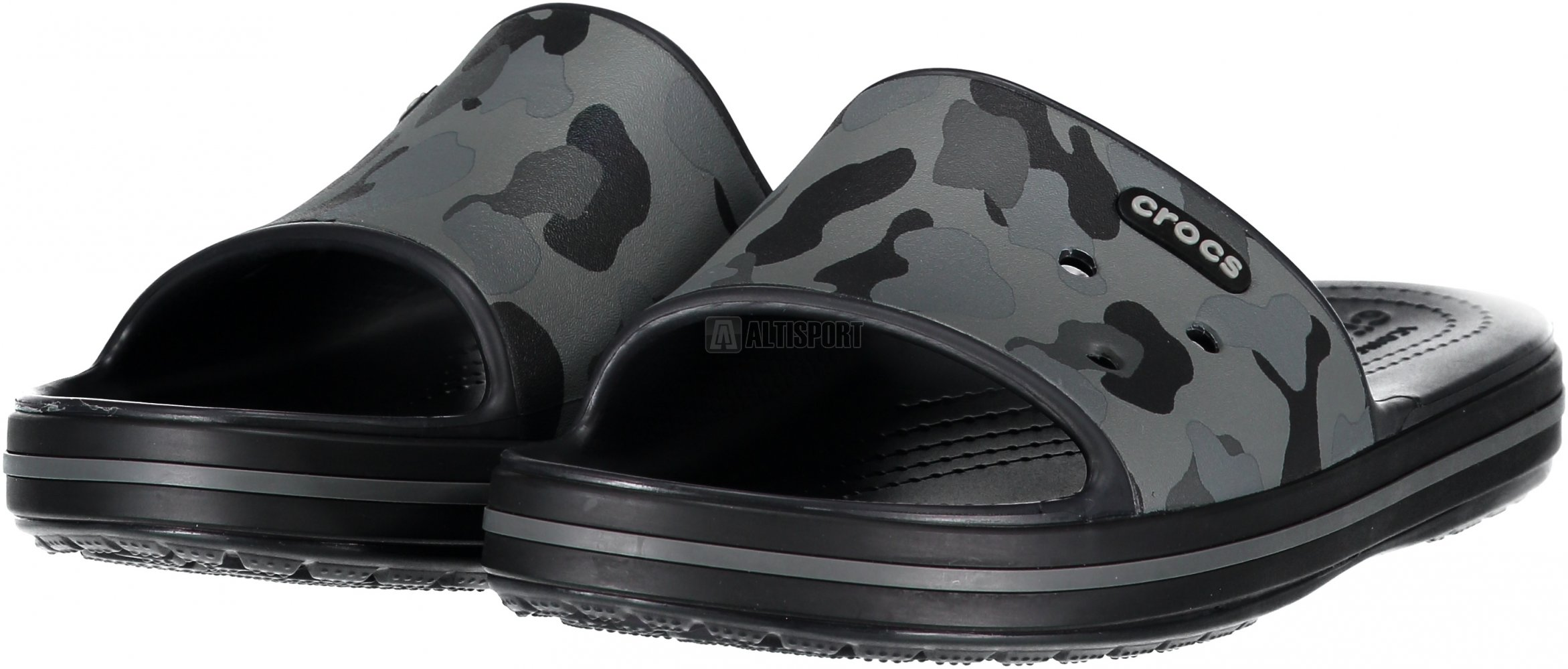 Dámské pantofle CROCS CROCBAND III 205583-0DY SLATE GREY BLACK ... 043878b7ce
