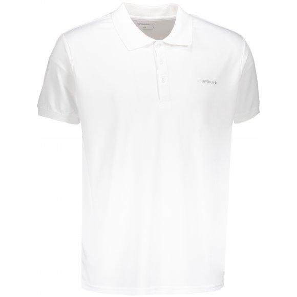 Pánské tričko s límečkem ICEPEAK KYAN 57630590 WHITE