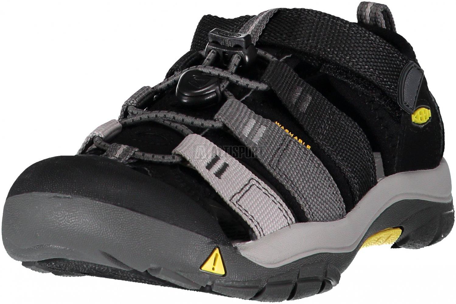 0944e5bff175 Dětské sandály KEEN NEWPORT H2 JR BLACK MAGNET velikost  EU 35 ...