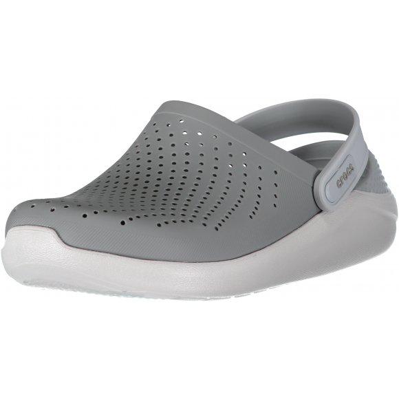 Dámské pantofle CROCS LITERIDE CLOG 204592-06J SMOKE/PEARL WHITE
