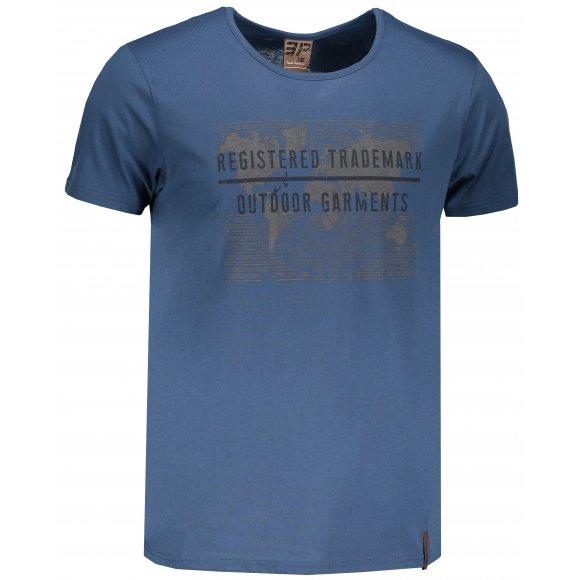 Pánské triko ICEPEAK LAMONT 57732689 BLUE