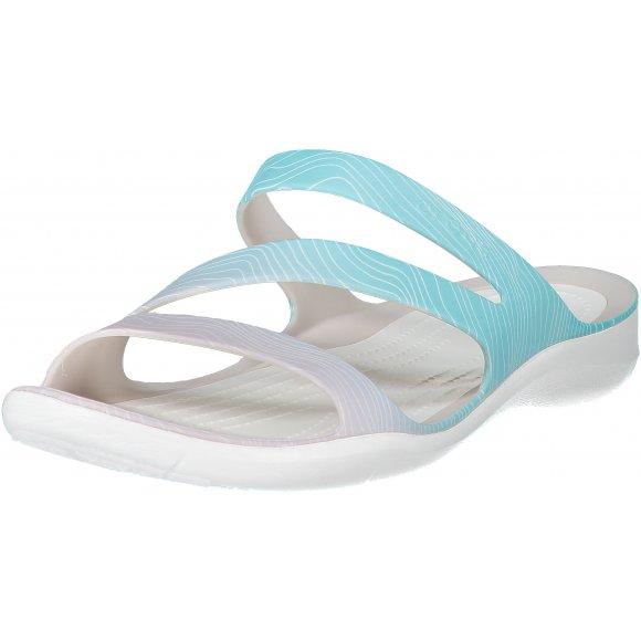 Dámské pantofle CROCS SWIFTWATER SEASONAL SANDAL W 205637-4IS OMBRE/WHITE