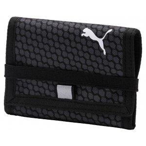 Peněženka PUMA BETA WALLET 07561911 BLACK/DARK SHADOW