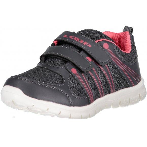 Dětské sportovní boty LOAP NERA KBJ1501 ŠEDÁ