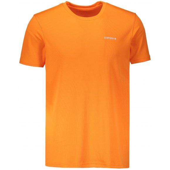 Pánské funkční triko ICEPEAK REVALD 57631646 ORANGE